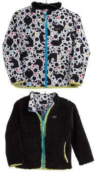 Burton Boys Boys Snooktwo Reversible Fleece Jacket, 4t Tangranimals
