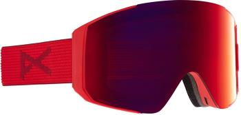 Anon Sync Perceive Sunny Red Ski/Snowboard Goggles, M/L Red