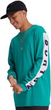 Burton Lowball Men's Long Sleeve Cotton T-Shirt, M Dynasty Green