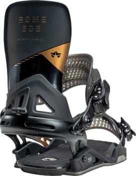 Rome Black Label Snowboard Bindings, L/XL Black Copper 2021