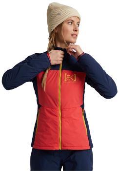 Burton [ak] Helium Womens Insulated Jacket, S Hibiscus/Dress Blue