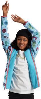 Burton Crown Weatherproof Kids' Full-Zip Fleece, Age 10 Floral