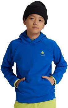 Burton Crown Weatherproof Kids' Pullover Hoodie, Age 10 Lapis Blue
