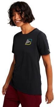 Burton Multipath Active Women's Short Sleeve T-Shirt UK 10 True Black