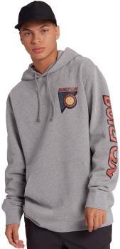 Burton Sequoia Men's Pullover Hoodie, M Grey Heather