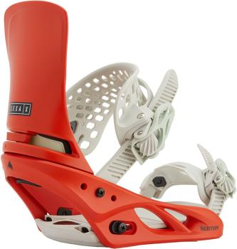 Burton Lexa X Re:Flex Women's Snowboard Bindings, Small Bright Red 2021