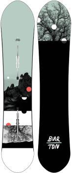 Burton Day Trader Women's Zero Camber Snowboard, 150cm 2021