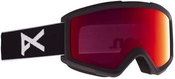 Anon Helix 2.0 Perceive Sunny Red Ski/Snowboard Goggles, S/M Black