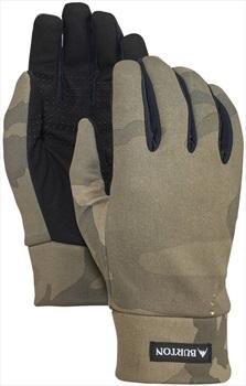 Burton Touch N Go Ski/Snowboard Liner Gloves, L Worn Camo