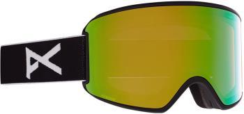 Anon WM3 Perceive Green Women's Ski/Snowboard Goggles, S/M MFI Black