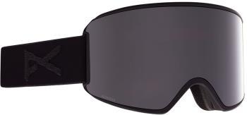 Anon WM3 P. Onyx Women's Ski/Snowboard Goggles, S/M Snapback Smoke