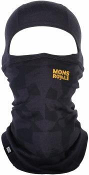 Mons Royale Adult Unisex Cabrio Merino Wool Balaclava, One Size 9 Iron Camo