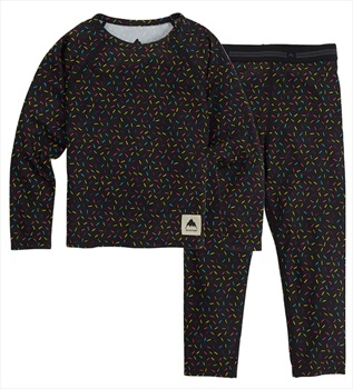 Burton Minishred 1st Layer Toddler's Fleece Set, 4T Sprinkles