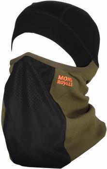 Mons Royale Adult Unisex Storm Tech Merino Wool Balaclava, One Size Canteen