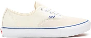 Vans Skate Authentic Trainers/Shoes, UK 8 Off White
