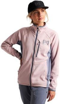 Burton [ak] Helium Grid Women's Full-zip Fleece, UK 12 Violet Ice