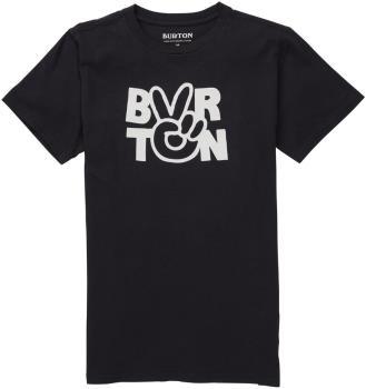 Burton Reese Kid's Short Sleeve T Shirt, Age 14-16 True Black