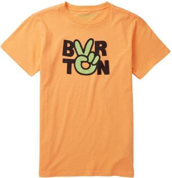 Burton Reese Kid's Short Sleeve T Shirt, Age10-12 Papaya