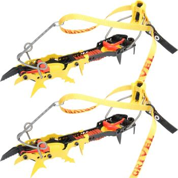 Grivel Rambo Evo 4 Mountaineering Crampon, UK 5.5-12.5 Yellow/Black