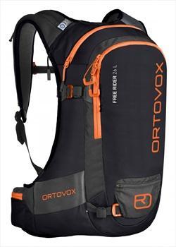 Ortovox Free Rider Ski/Snowboard Backpack, 26L Black Raven