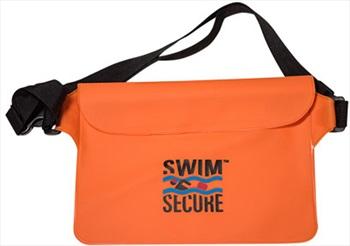 Swim Secure Bum Bag Waterproof Electronics Case, O/S Orange