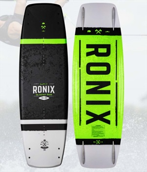 Ronix District Boat Wakeboard, 150 Black Green 2021