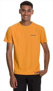 Berghaus 24/7 Tech Short Sleeve T-Shirt, S Sunflower
