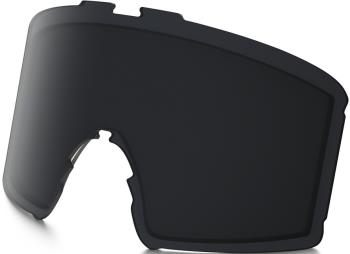 Oakley Line Miner XM Prizm Snowboard/Ski Goggle Spare Lens, Dark Grey