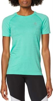 Odlo Seamless Element Women's Short Sleeve T-Shirt, M Pool Green
