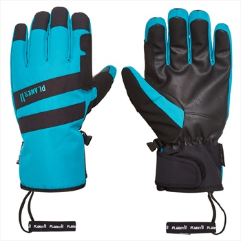 Planks Peacemaker Insulated Ski/Snowboard Gloves, L Midnight Teal