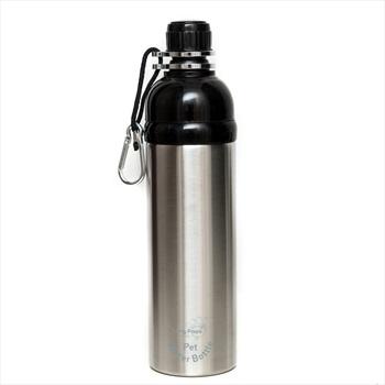 Long Paws Lick N Flow Smart Pet Water Bottle, 750ml Silver