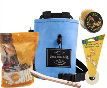 The Full Works Climbing Gift Set: Sky Blue