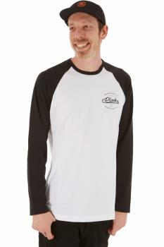 Planks Mountain Supply Co Long Sleeve T-Shirt L White