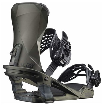 Salomon Adult Unisex Alibi Pro Snowboard Binding, L Dark Olive 2020