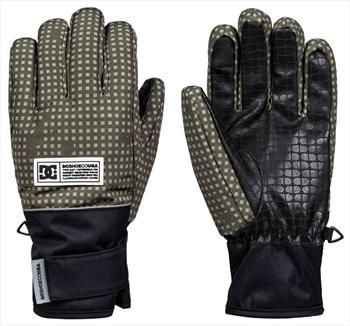 DC Franchise Ski/Snowboard Gloves, XL Olive Desert Night Camo