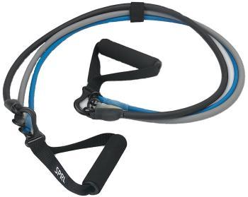 SPRI 3-in-1 Fitness Resistance Tube Kit, Medium/Heavy/Ultra Heavy
