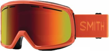Smith Range Red Sol-X Mirror Snowboard/Ski Goggles L Burnt Orange