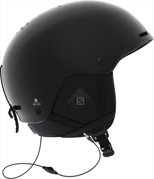 Salomon Brigade+ Audio Snowboard/Ski Helmet, M Black