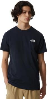 The North Face Simple Dome Men's Short Sleeve T-Shirt, M Aviator Navy