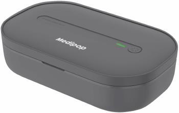 Medipop Magic Box Protective UV LED Portable Steriliser, Black