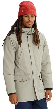 Burton Danning Trench Winter Jacket, M Hawk/Indigo Resist