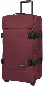 Eastpak Tranverz M Wheeled Bag/Suitcase, 78L Crafty Wine