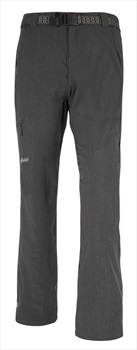 Kilpi Adult Unisex James Men's Walking Hiking Trousers, 3XL Dark Grey