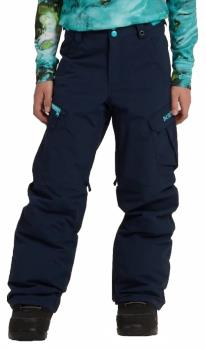 Burton Boys Exile Cargo Snowboard Ski Pants, M Dress Blue
