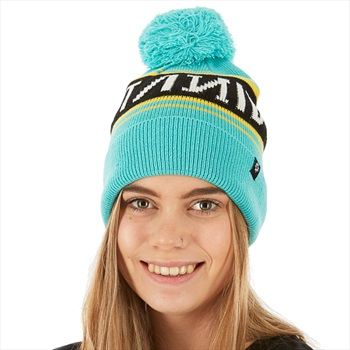 Nikita Whammy Snowboard/Ski Beanie, One Size Mountain Blue