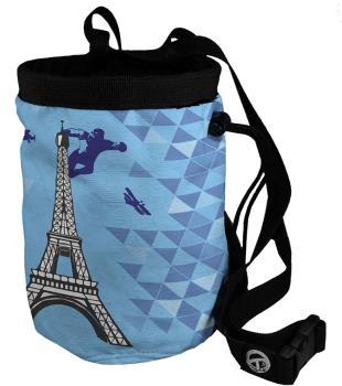 Charko Cities Rock Climbing Tube Chalk Bag, Regular Paris