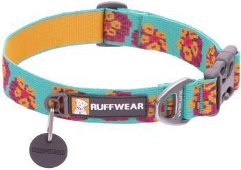 Ruffwear Flat Out Webbing Dog Collar, Small Spring Burst