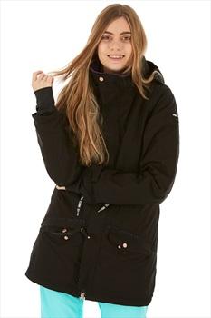 Nikita Poplar Women's Ski/Snowboard Jacket, S Black