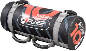 Pure 2 Improve Crossfit Filled Weighted Power Bag, 10 kg Black/Red