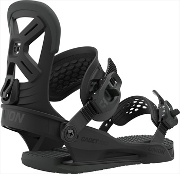 Union Cadet Pro Kids Snowboard Bindings, S Black 2021